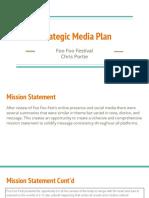 foo foo fest media plan