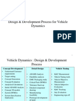 VDHS-12 Vehicle Dynamics Design Process