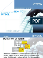 Wk2_introduction to Mysql