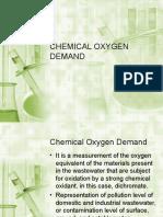 Chemical Oxygen Demand