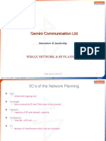 Wimax Network & Rf Planning