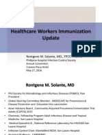 PHICS HCW Immunization Recommendation Update
