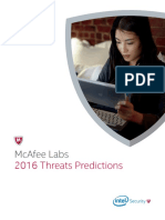 Intel McAfee Cyber Threats Predictions 2016