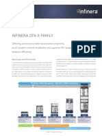 Infinera BR DTN X Family Overview