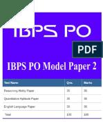 36231_IBPS PO Model Paper 2