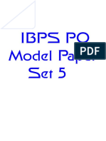 91647_IBPS PO Model Paper 5