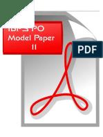 87416_IBPS PO Model Paper 11