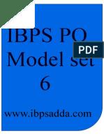 1219_IBPS PO Model Paper 6