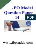 24015_IBPS PO Model Paper 14