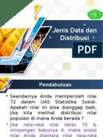Statistik (jenis data dan distribusi)
