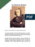 El Gran Johannes Brahms