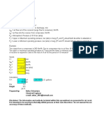 Air Receiver Sizing Metric Units