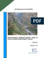 Final Report of GBR, NHP, 15th September 2011
