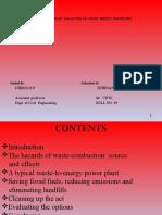 Seminar Presentation-biomedical waste management