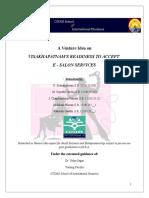 SBE Venture Idea Report