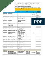 ISMOCD schedule 2016