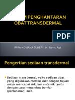 Transdermal.