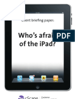 Whos Afraid of the Ipad