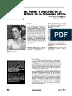 Bidimensión del poder e ideología en la perspectiva teórica de la pedagogía crítica.pdf