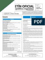 Boletín Oficial de la República Argentina, Número 33.434. 05 de agosto de 2016