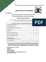 Uganda NSDS2004 QNR