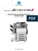 Bizhub C300 C352 Product Guide Japan