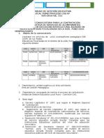 SEGUNDA CONVOCATORIA PARA LA CONTRATACIÓN ADMINISTRATIVA DE SERVICIOS DE ACOMPAÑANTES PEDAGÓGICOS EN EDUCACIÓN INTERCULTURAL BILINGÜE .docx