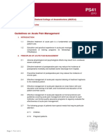 Ps41 2013 Guidelines on Acute Pain Management