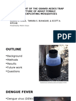 Development of the Gravid Aedes Trap for the Capture of Adult Female Container–Exploiting Mosquitoes
