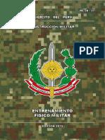 Entrenamiento Fisico Militar