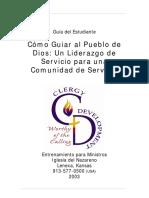 Cómo guiar al Pueblo de Dios - Un Liderazgo de Servicio para una comunidad en servicio.pdf