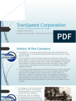 Transpeed Corporation