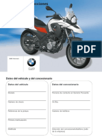 Manual Moto BMW 650