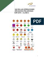 Seguridad en Las Operaciones Con Mercancías Peligrosas Adr 2015 Clase 2