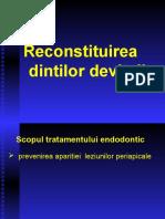 reconstituire corono-radiculara