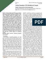 Properties of Carbon Nanotube (CNT) Reinforced Cement