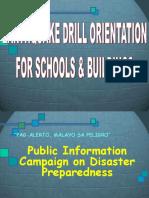 b.e.e.p. and Earthquake Drill