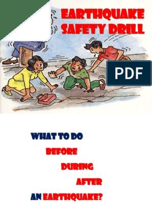 Earthquake Drill Orientation | Emergency Evacuation