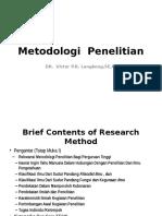 Metodologi Penelitian Program Magister (Dr. Victor L.)