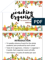 KSSM English Form 1 Teaching Organiser Overview & Guidelines