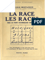 Montandon George - La Race Des Races