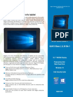 AEG-MDS-005 - Aegex10 Intrinsically Safe Tablet Specification Sheet Cert US