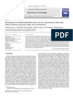 Development of Suitable Photobioreactors for CO2 Sequestration Addressing Global Warming Using Green Algae and Cyanobacteria