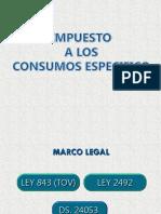 Impuestos Sobre Consumo Específico