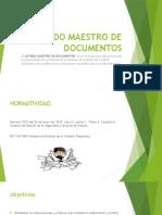 Listado Maestr LISTADO MAESTRO DE DOCUMENTOSo de Documentos Expo