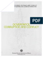 1    Governance Corruption       B   +