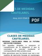 Clase-III-clases de Medidas Cautelares