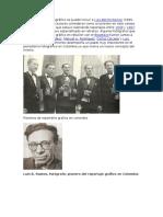 Historia de La Reporteria Grafica en Colombia