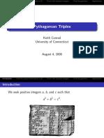Pythag Triple