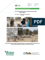 Impact Assessment of the Pastoralist Survival and Recovery Project Dakoro, Niger